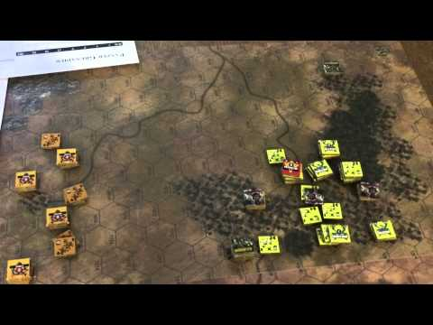 Panzer Grenadier: Conquest of Ethiopia, Scenario 4 - YouTube