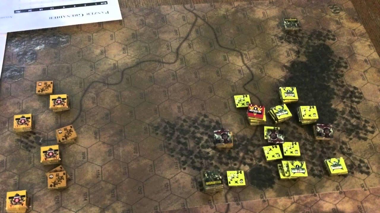 Panzer Grenadier: Conquest of Ethiopia, Scenario 4