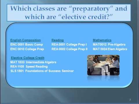 College prep courses - take 1