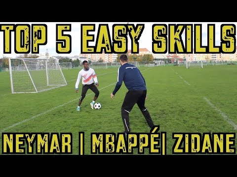TOP 5 EASY SKILL MOVES FOR MIDFIELDERS