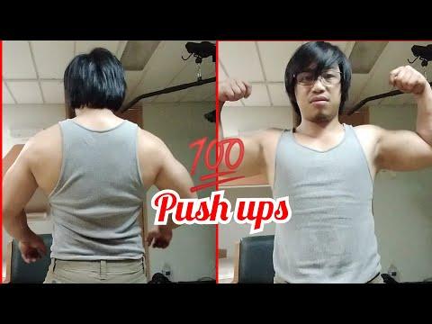 100 push up challenge in 30 days(week2 update)