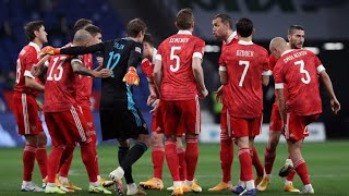 Футболисты сборной России проведут матч за первое место в группе