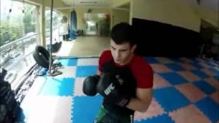 Lutador do UFC - Felipe Sertanejo - Treino MMA - Manopla - GO PRO