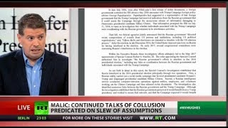 Mueller Report: DOJ using Hillary's intel to fuel Russiagate