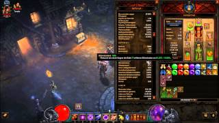 Diablo 3 RoS Zauberer ( Feuervogel-Set Patch 2.1.0 ) German