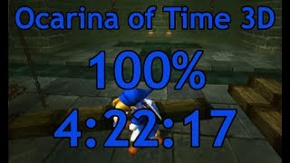 Ocarina of Time 3D 100% Speedrun in 4:22:17