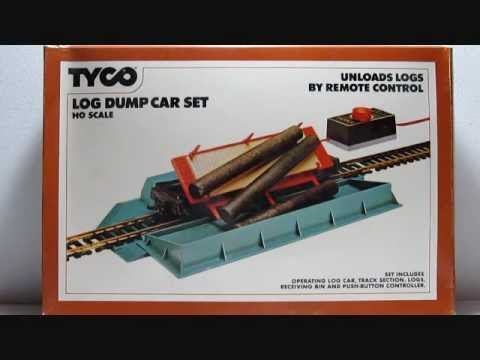 TYCO # 926 OPERATING LOG DUMP CAR SET
