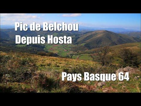 Rando Pic de Belchou depuis Hosta, Pays Basque (64).