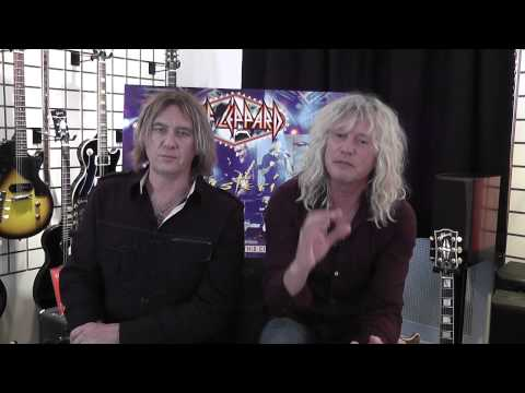 DEF LEPPARD interview with Joe Elliott and Rick Savage by Mark Taylor