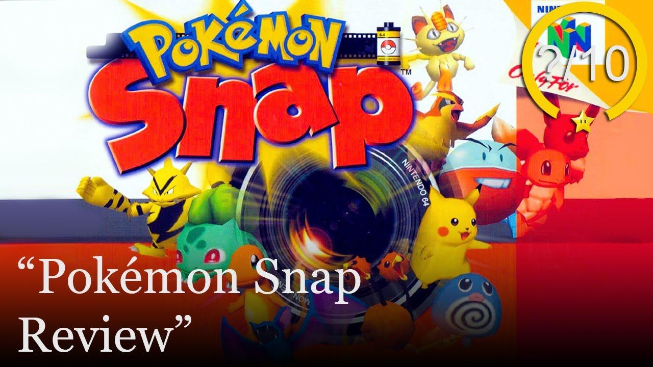 Pokémon Snap Review [Nintendo 64] (Video Game Video Review)