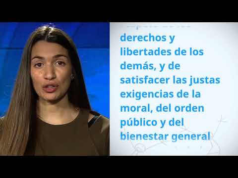 UDHR Video Article 29 Español Spanish Ana Garcia Soria