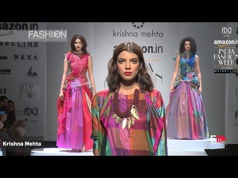 KRISHNA MEHTA Spring Summer 2017 | INDIA Fashion Week by Fashion Channel