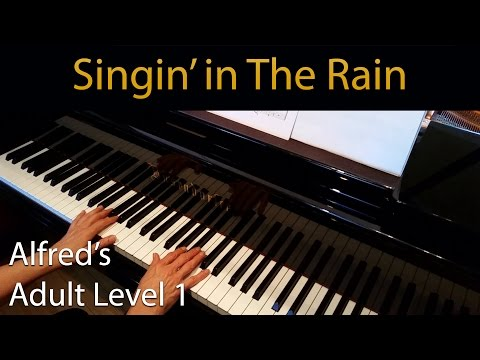 Singin' In The Rain (Early-Intermediate Piano Solo) Alfred's Adult Level 1