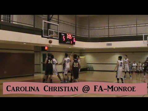 Carolina Christian Highlights @ FA-Monroe