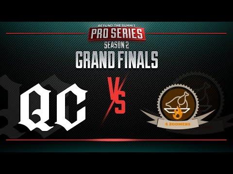 Quincy Crew vs 4Zoomers Game 1 - BTS Pro Series 2: Americas - GRAND FINALS w/ T-Panda & Kips
