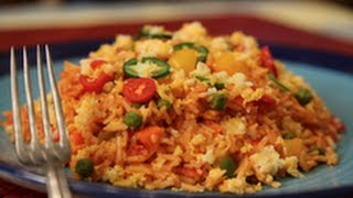 Mexican Vegetable Rice By Asha Khatau