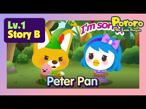 [Lv.1] Peter Pan | What if Petty doesn't help the Captain Hook?  | Fairy tales | Pororo