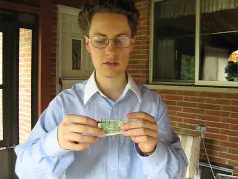 One Dollar Bill Magic Trick Revealed