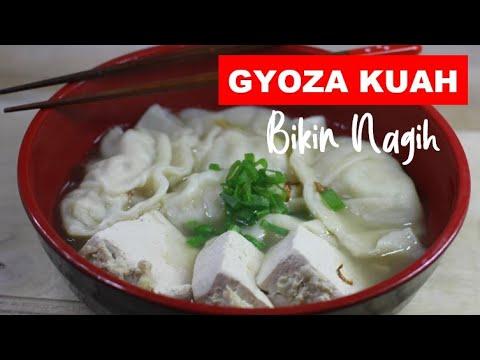 Ricetta Gyoza Hiroo.Cara Memasak Gyoza Kuah Cocok Banget Untuk Musim Hujan Anget Gurih Ngenyangin Cooking Time Youtube