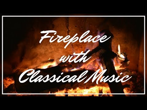 Romantic Classical Music with Relaxing Slow Motion Fireplace Background | The Relax Guys 🔥 90