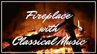 Cover images Romantic Classical Music with Relaxing Slow Motion Fireplace Background | The Relax Guys 🔥 90