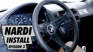 Project Civic - Nardi Steering Wheel Install Ep. 3