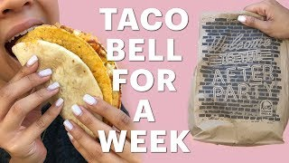 I Only Ate At Taco Bell For A Week (Vertical Video)