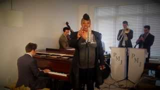 Repeat youtube video Livin' on a Prayer - Vintage Jazz Bon Jovi Cover ft. Miche Braden