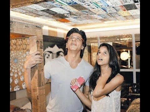 SRK&Suhana: Suhana's 14th Birthday Special