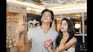 SRK&Suhana: Suhana's 14th Birthday Special