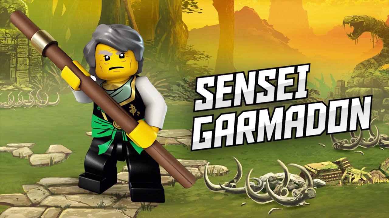 Lego ninjago sensei garmadon youtube - Sensei ninjago ...