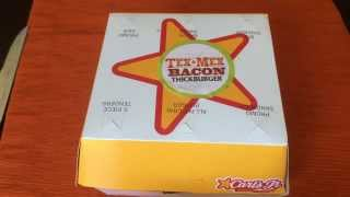Carl's Jr The Tex Mex Bacon Thickburger Review