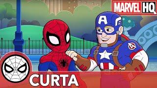 Os Brinquedos Voltaram   Marvel Aventuras de Super-Herói