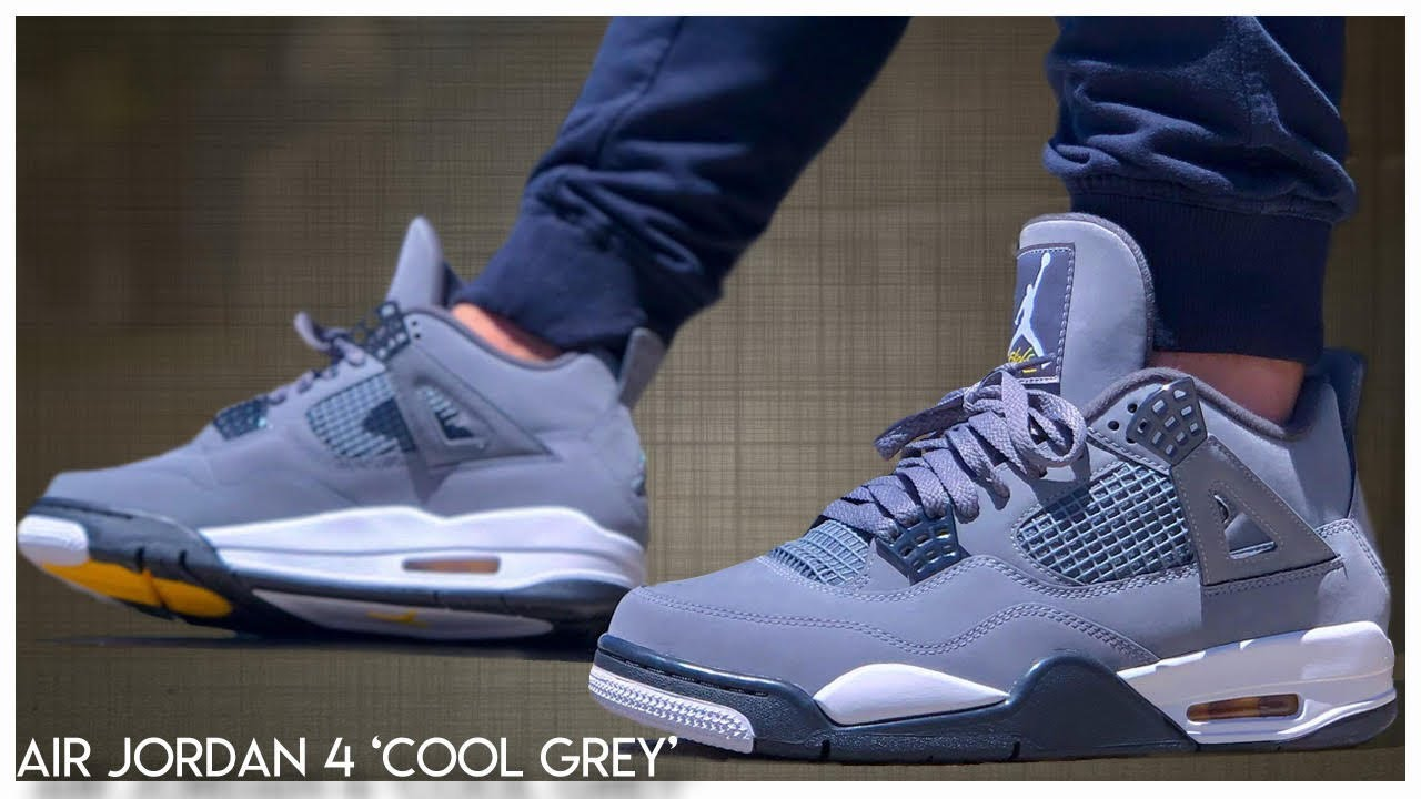 new products e01f2 d257a Air Jordan 4 'Cool Grey' 2019