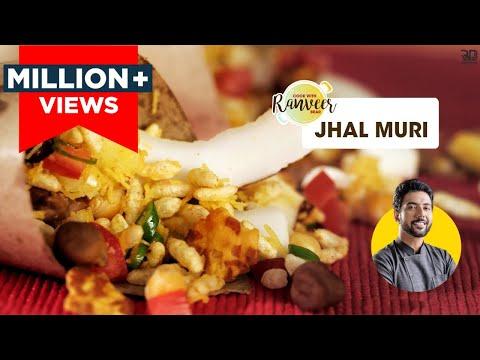 Kolkata Style Jhal Muri | मसालेदार झालमूड़ी घर पर | Street Food recipes | Chef Ranveer Brar