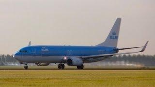 klm aircraft ph bxh boeing 737 800 ams eham