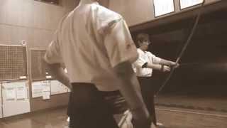 00386 kyudo japanese archery