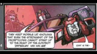 Transformers Shattered Glass part 1 comic book