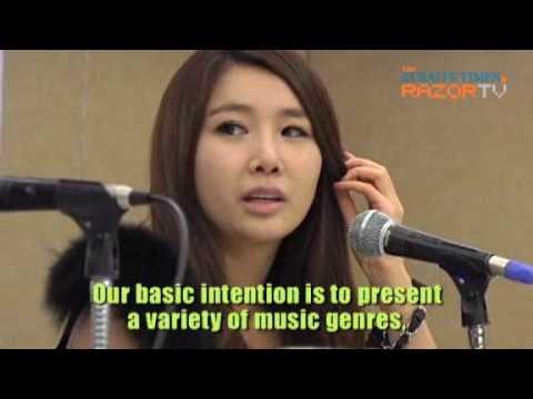 Brown Eyed Girls interview @ Singapore SunDown Concert Part2