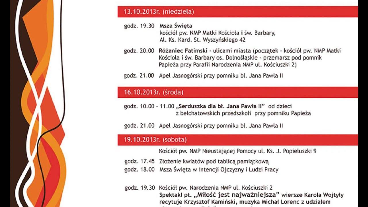 Tkb Ix Bełchatowskie Dni Papieskie 18102013