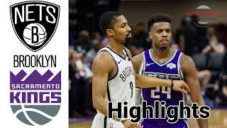 <b>Nets</b> vs Kings HIGHLIGHTS Full Game | NBA February 15