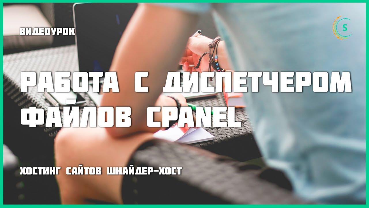 Шнайдер-хост — Диспетчер файлов cPanel