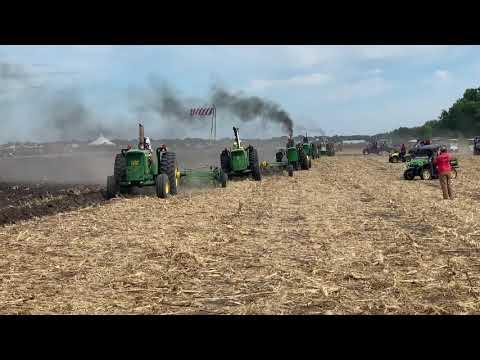 Big John Deere's Plowing On Sunday At Half Century If Progress 2019