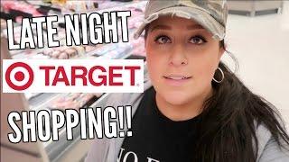 LATE NIGHT TARGET SHOPPING!!