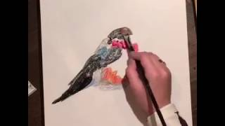 Видеоурок по масляной живописи