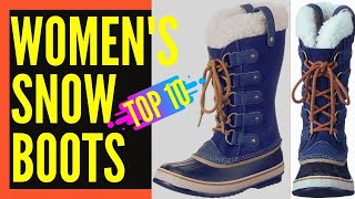 Best Snow Boots For Women Review || Best Winter Boots for Women
