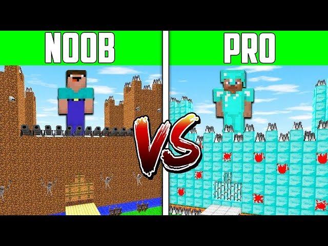 Minecraft NOOB vs PRO vs HACKER: CASTLE SECRET HOUSE Challenge in Minecraft / Animation