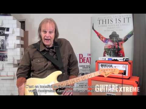Walter Trout - Blues Guitar lesson - Guitare Xtreme #72