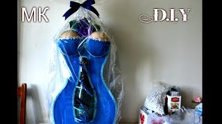Дама сердца/Оригинальный подарок своими руками/D.I.Y/Tutorial