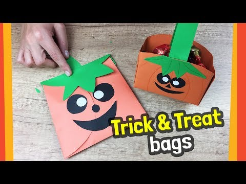 DIY for Halloween Trick-Or-Treat Bag